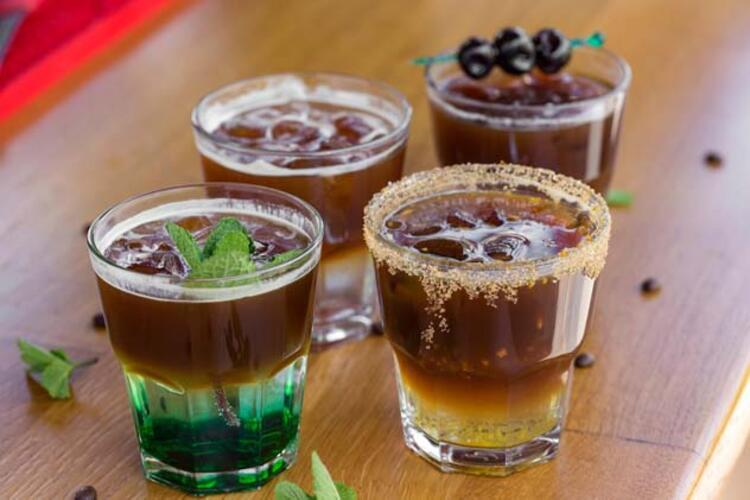 13- Soğuk kahveler ve milkshakeler: