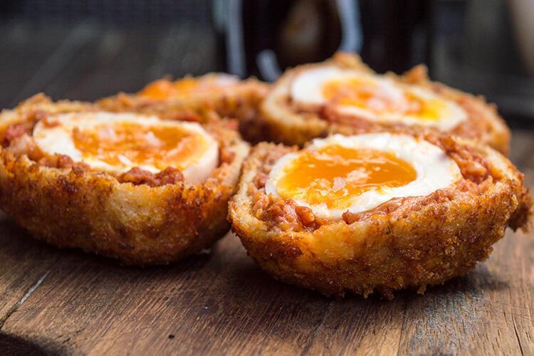 Scotch Egg - İngiltere