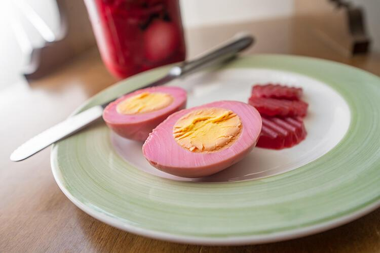 Yumurta Turşusu - İngiltere ve ABD