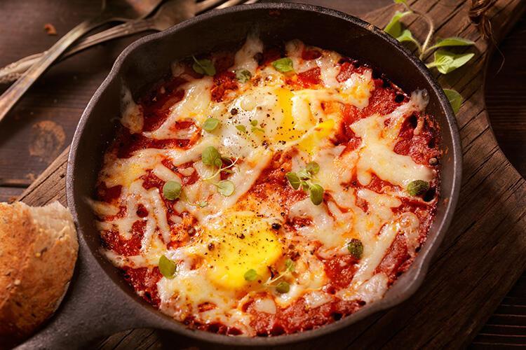 Bask Usulü Fırında Yumurta - İspanya