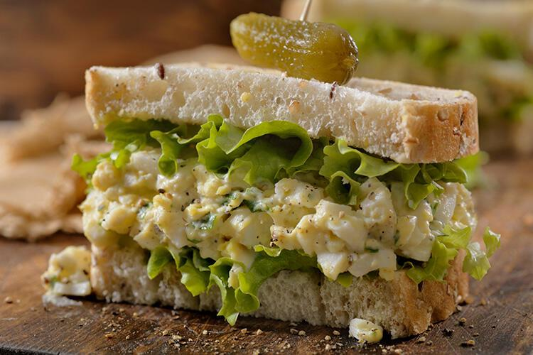 Yumurta Salatası - Fransa