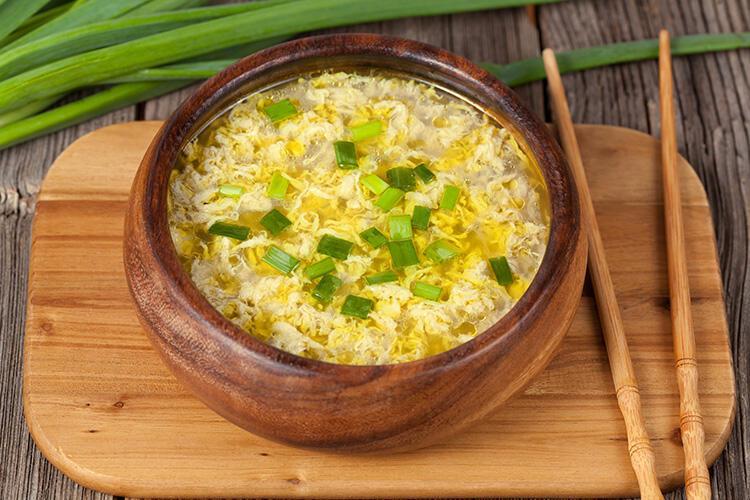 Yumurtalı Çorba - Çin