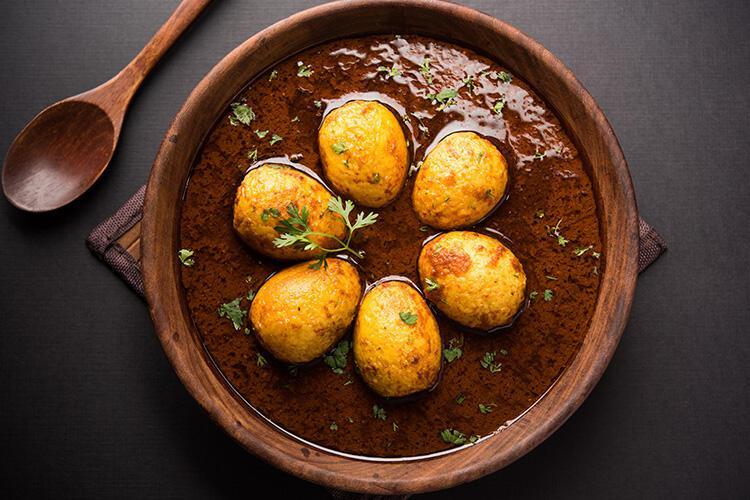 Yumurtalı Köri - Hindistan
