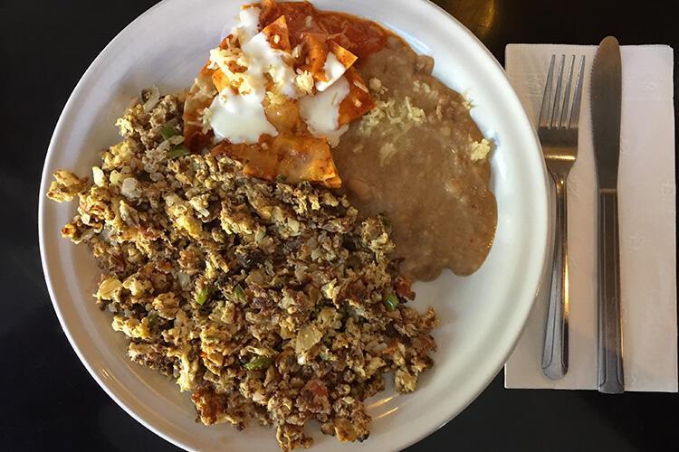 Machaca con Huevos - Meksika