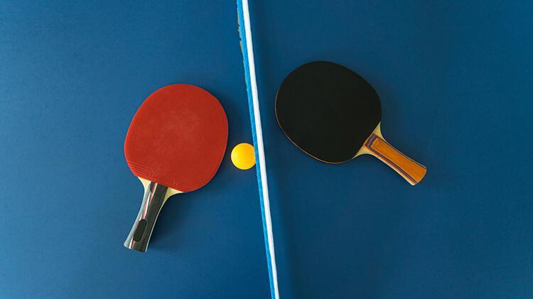 Portatif masa tenisi seti