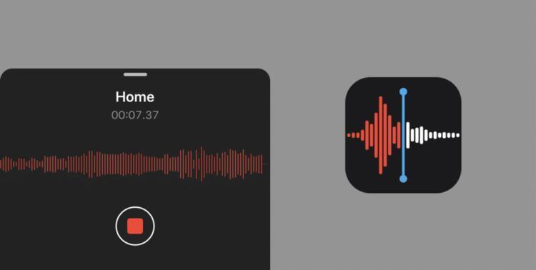 Sesli notlar uygulamasında gürültüye son