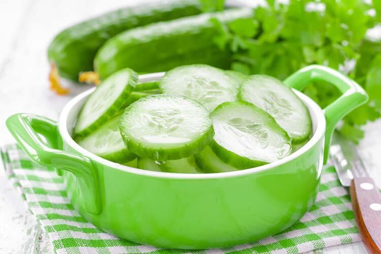 Salatalık ödeme karşı