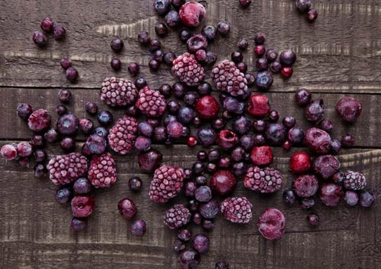 Dondurulmuş meyveler zararlıdır