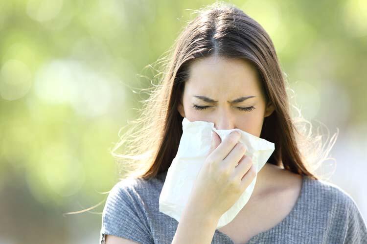 Alerjik nezlesi olanlar nelere dikkat etmeli