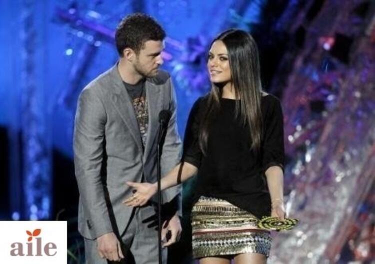 Justin Timberlake ile Mila Kunis