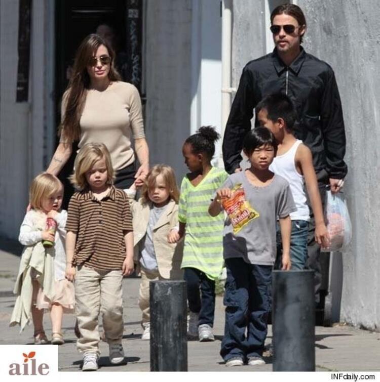 Angelina Jolie ve Çocukları