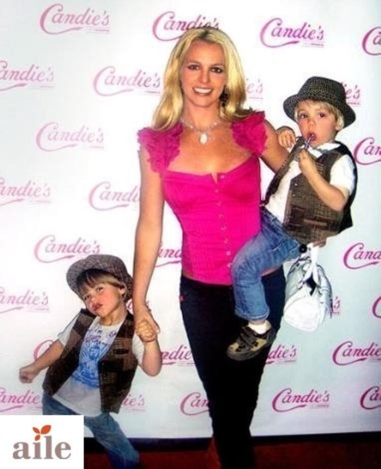 Britney Spears ve Oğulları