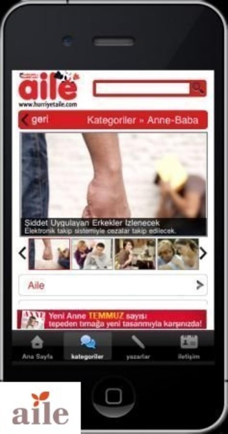 Hürriyet Aile Artık iPhoneda