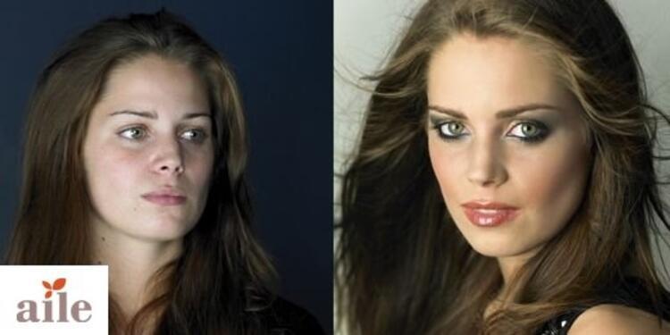 Makyaj Öncesi ve Sonrası