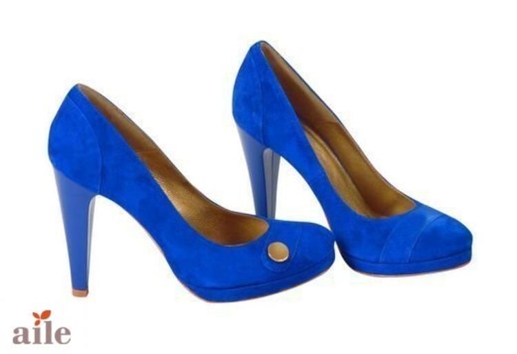 Saks Mavisi Ayakkabı