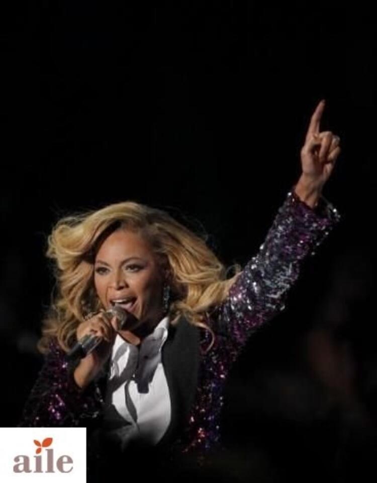 Bebek bekleyen Beyonceun ilk görüntüleri