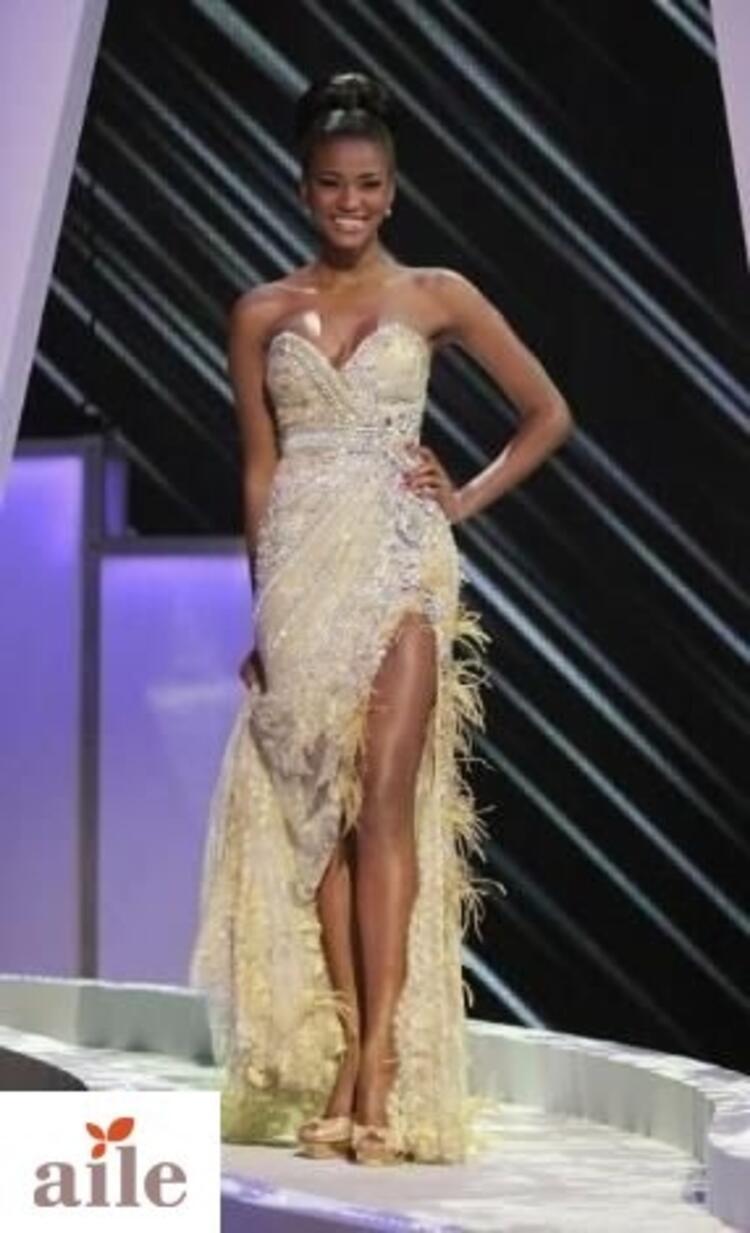 Angola güzeli Leila Lopes