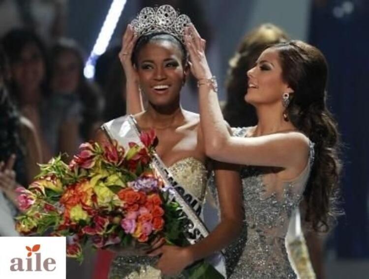1. Olan Angola güzeli Leila Lopes