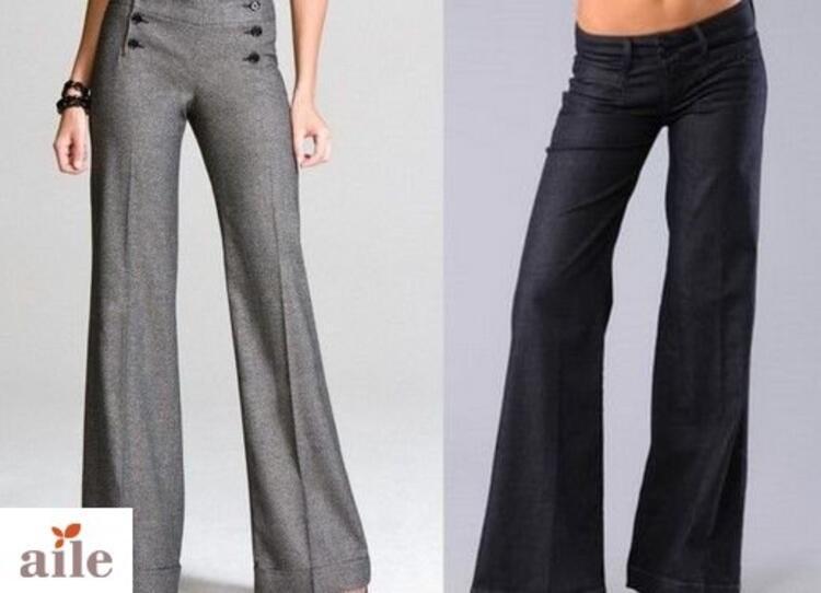 Bol paça pantolonlar