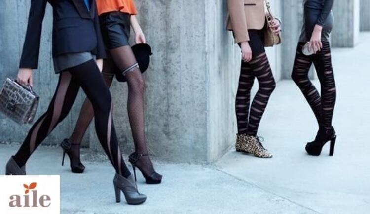 Kadınları etkileyici gösteren çoraplar