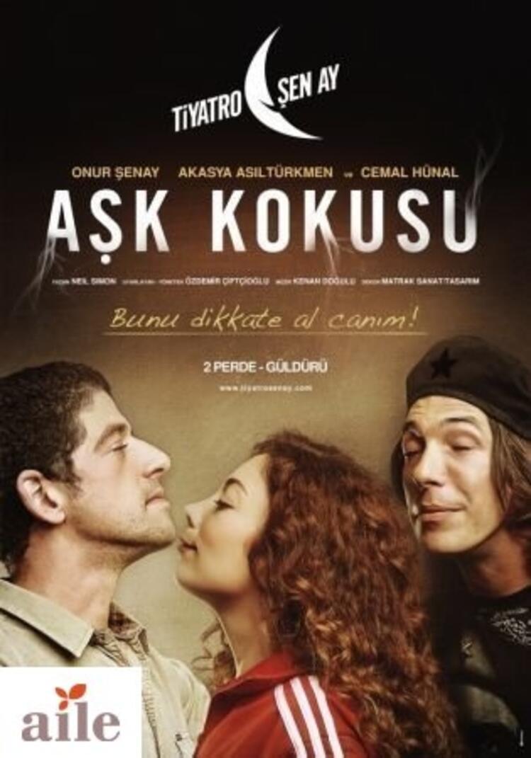 Romantik komedi tarzında bir tiyatro: Aşk Kokusu
