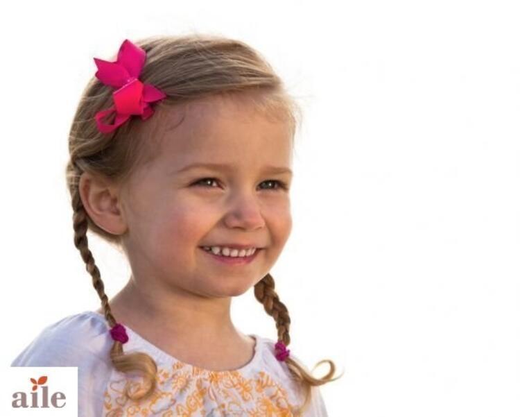 Minik prensesler için birbirinden güzel saç modelleri