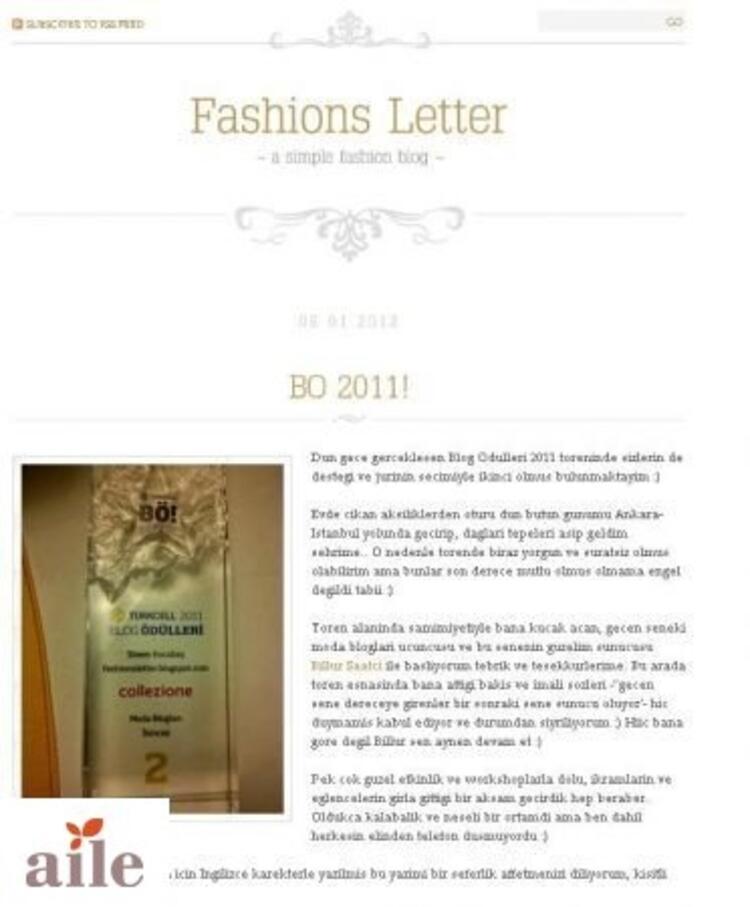 Fashion Letters