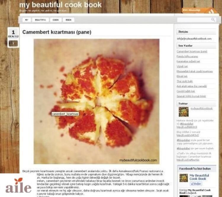 My Beautiful Cook Book