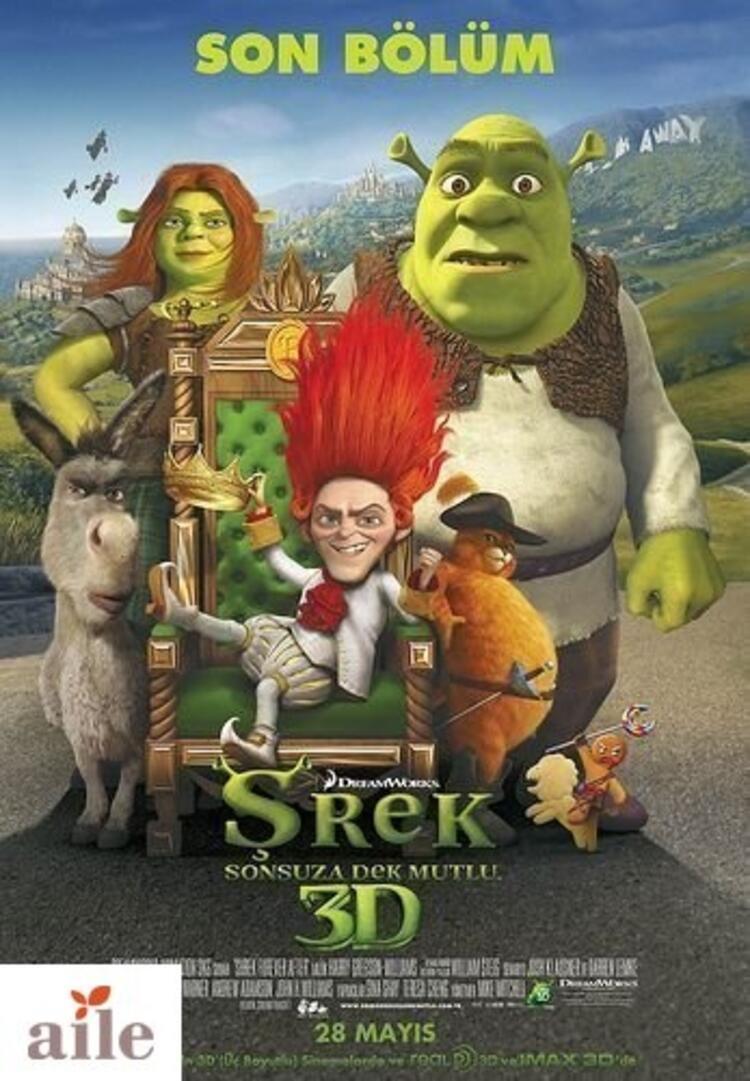 Shrek Sonsuza Dek Mutlu
