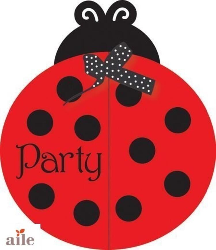 Uğur böceği temalı bir parti hazırlamaya ne dersiniz