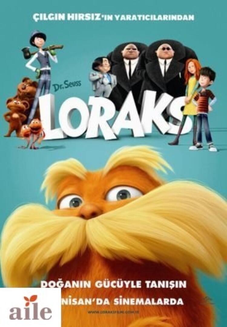 Dr. Seuss Loraks 13 Nisan'da vizyonda