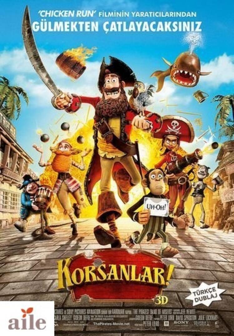 "Korsanlar / ""The Pirates Band Of Misfits"" 20 Nisan'da sinemalarda"