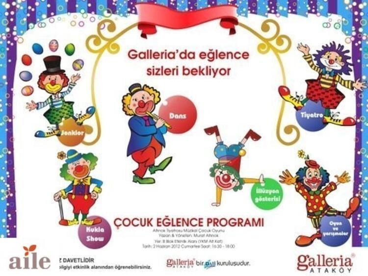 Galleria'dan çocuklara eğlenceli saatler
