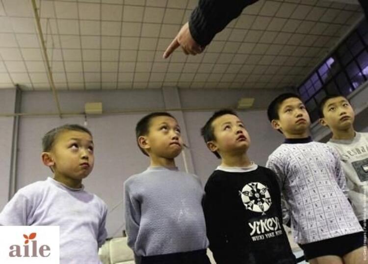 Çinli çocuklara işkence gibi eğitim