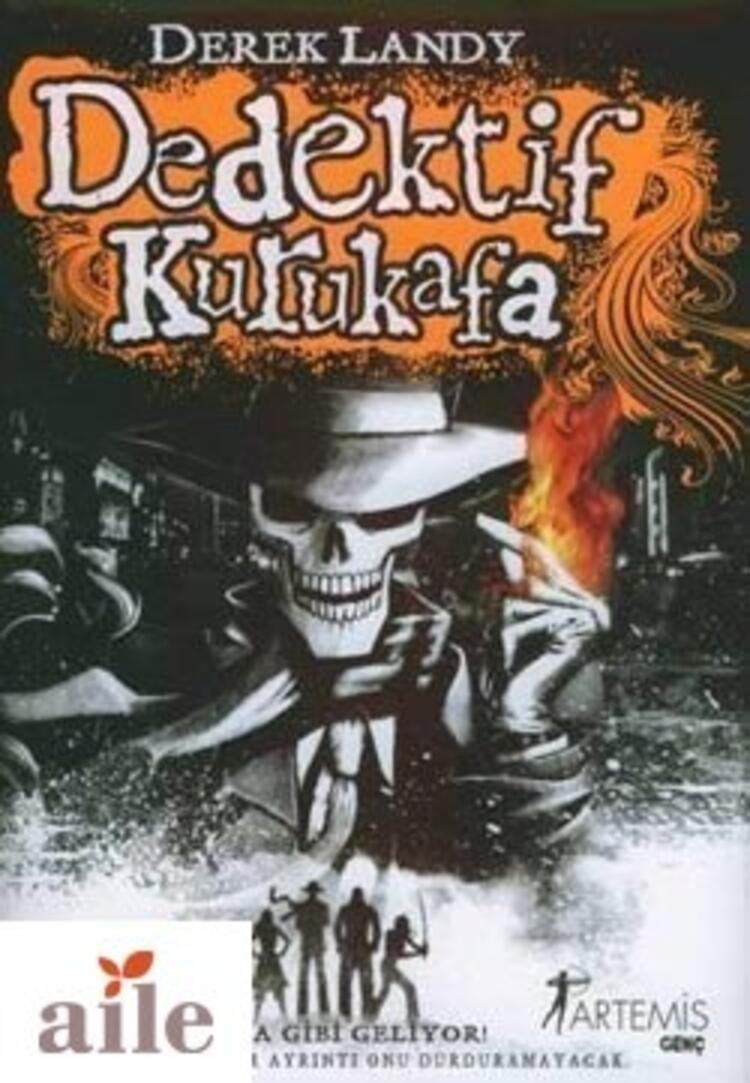 Dedektif Kuru Kafa Serisi - Derek Landy