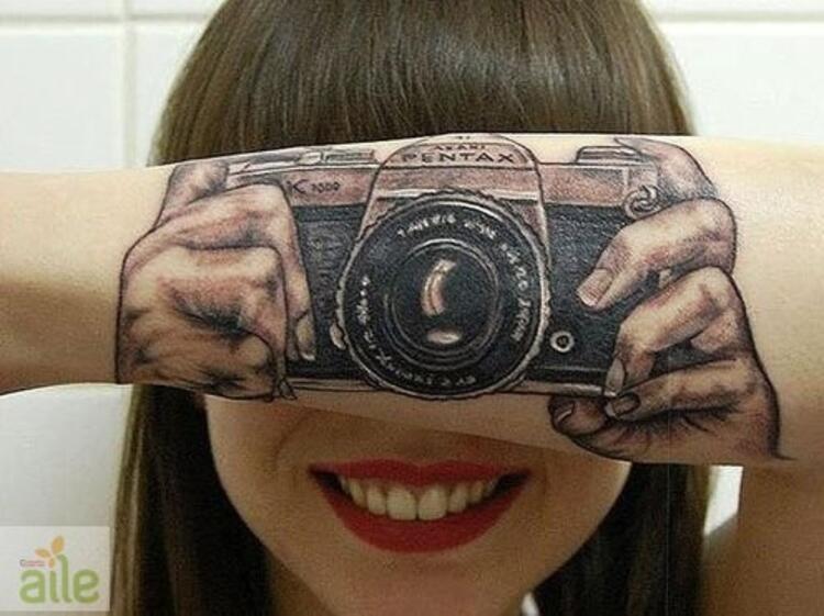En ilginç dövmeler