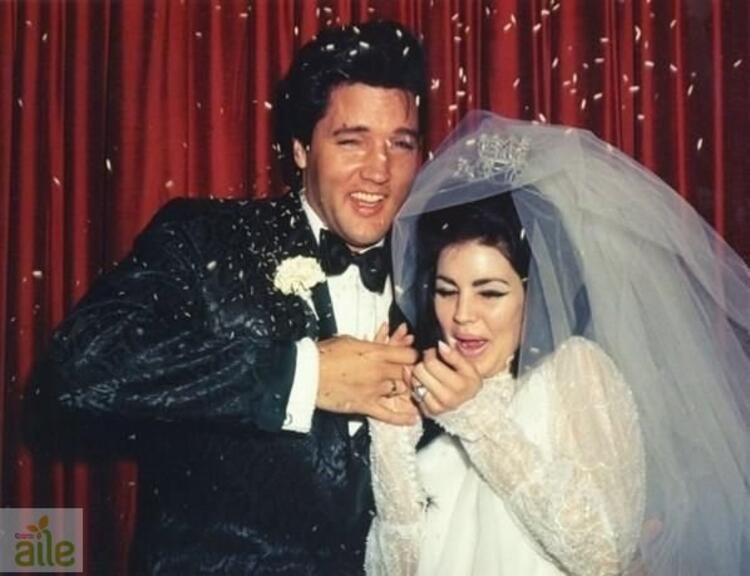Elvis ve Priscilla Presley