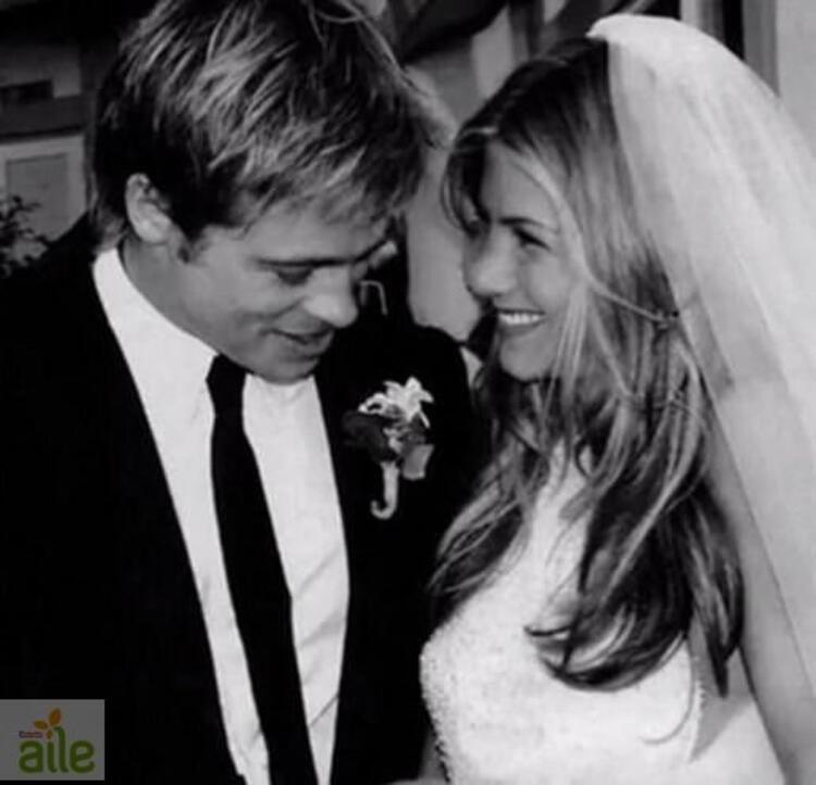 Jennifer Aniston ve Brad Pitt