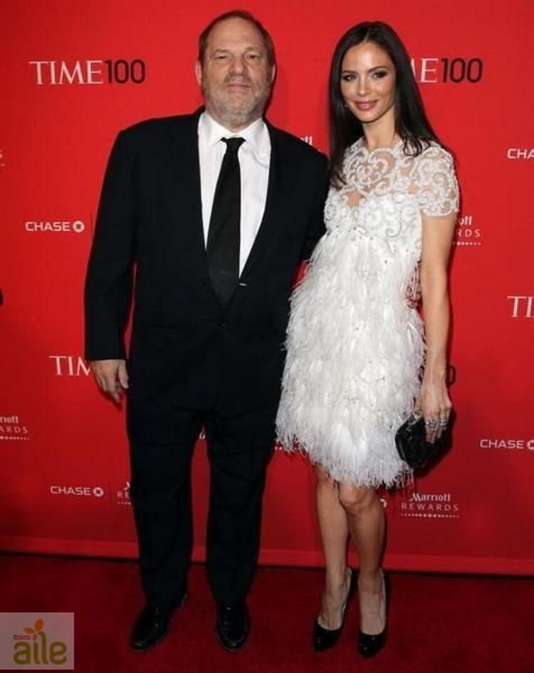 Georgina Chapman & Harvey Weinstein