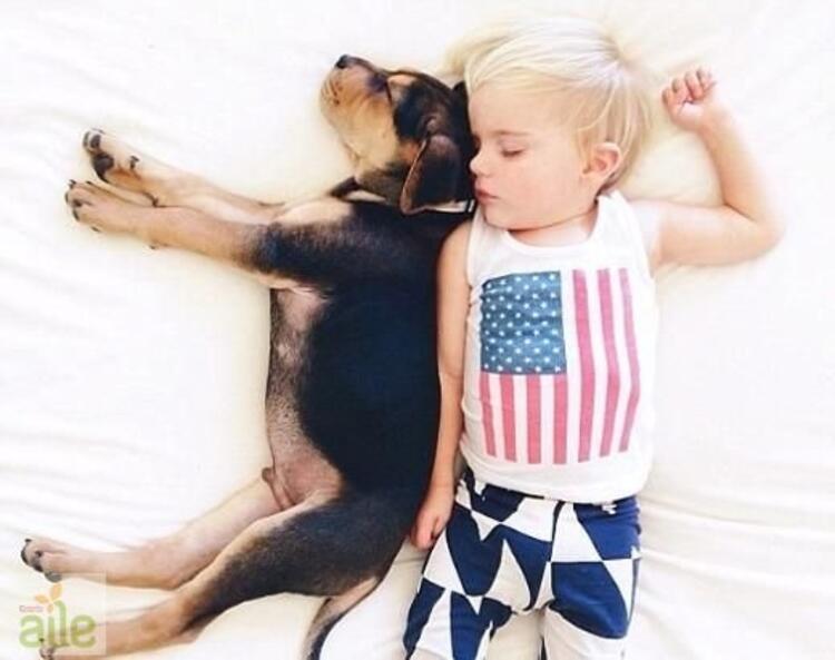 Beau ve Theo birlikte büyüyor