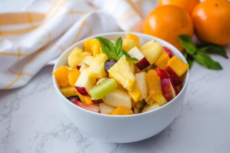 Günde 2 porsiyon meyve yeter