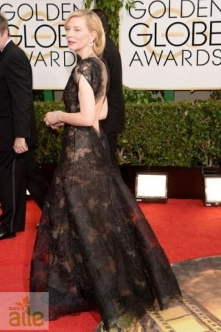 Cate Blanchett Armani Prive elbisesiyle
