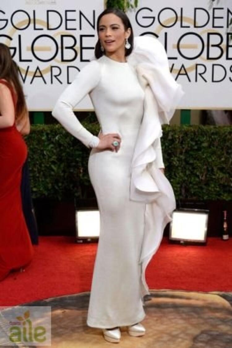 Paula Patton Stephane Rolland elbisesiyle