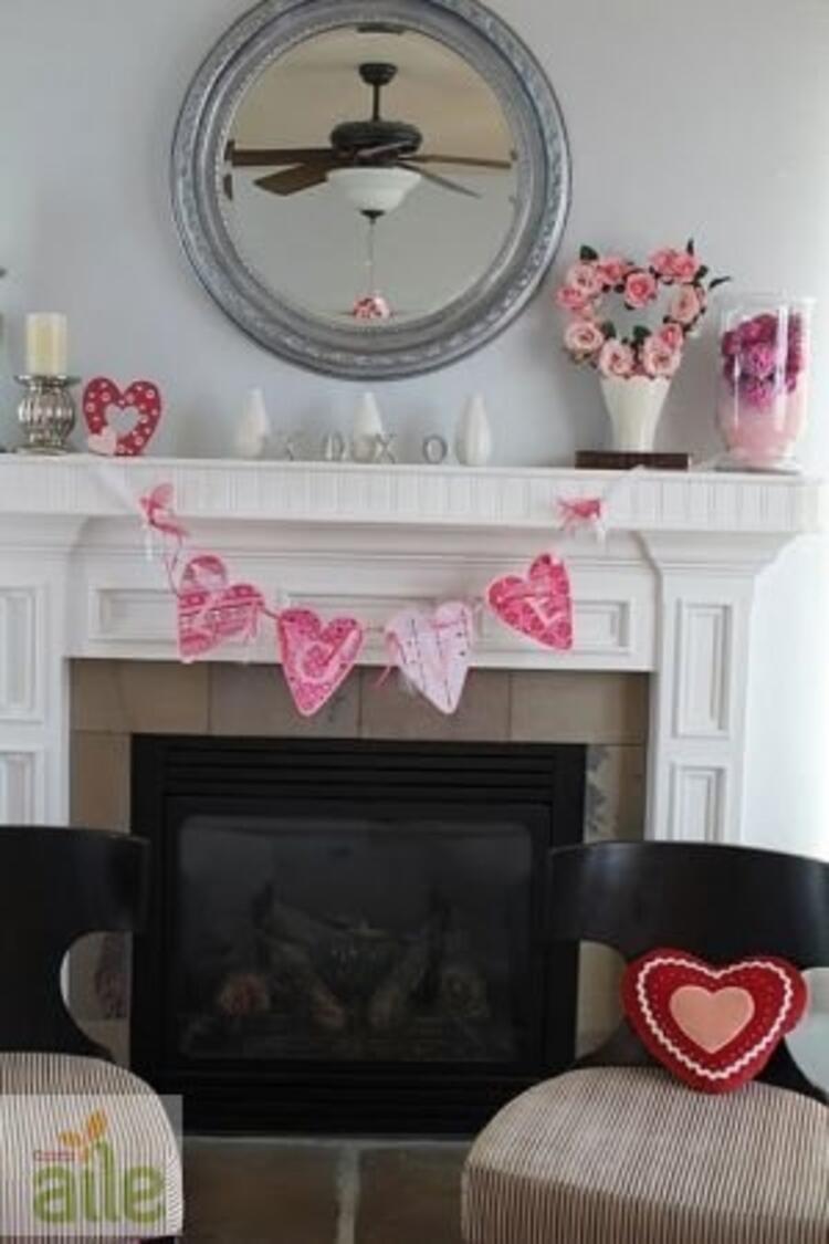 14 Şubat dekorasyon önerileri
