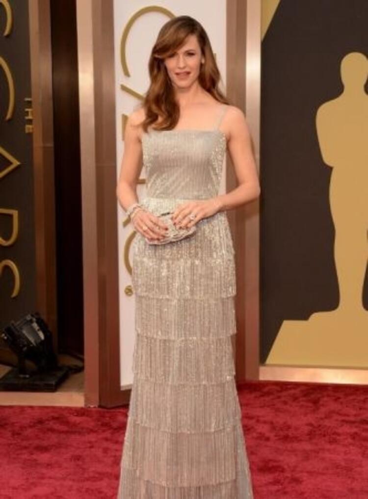 Jennifer Garner-Oscar de la Renta