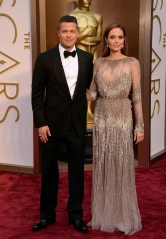 Brad Pitt&Angelina Jolie (Elie Saab)