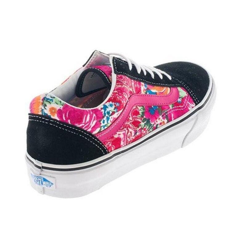 Floral desenli sneaker modelleri