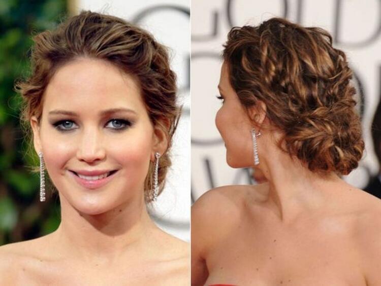 Mezuniyet gecesi için ilham verici saç modelleri