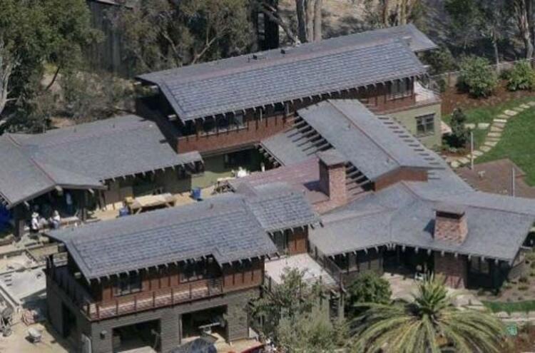 Ünlülerin muhteşem evleri