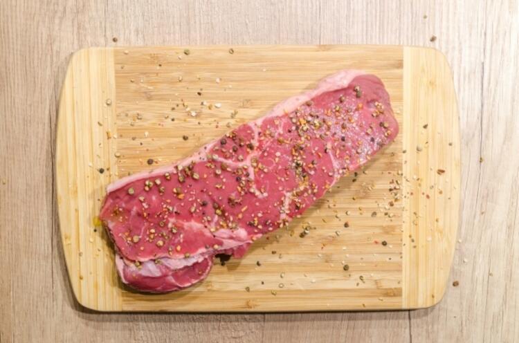 Et ürünü hazırladıktan sonra…
